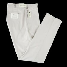 NWT PETER MILLAR Sandstone Pima Cotton Twill Trouser Dress Pants 40 / 42
