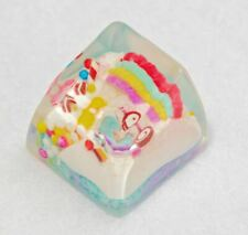 Jelly Key Confectionery Woods Artisan Keycap (Milk Berry Sundae). SA row 1