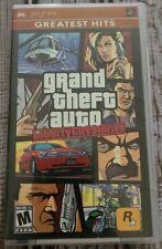 Grand Theft Auto: Liberty City Stories (Sony Psp, 2005) Greatest Hit Cib