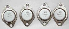 2N3055 Transistor Germanium PNP de puissance - Lot de 4 pièces