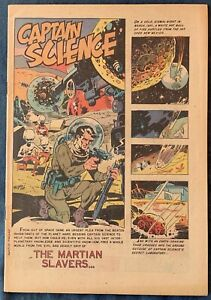 Captain Science #4  July 1951  Coverless  Wood Art
