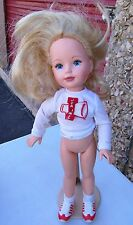 "Tomy Kimberly 16"" Blonde Doll READ & LOOK"