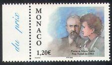 Monaco 2003 Marie Curie/Becquerel/Nobel Prize/Science/Physics/People 1v (n39263)