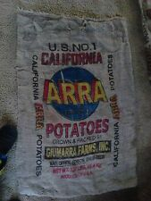 burlap potato bag sack 22 by 38 inch used, washed, REAL lowest price on eBay!