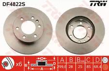 Brake Disc TRW DF4822S