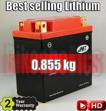 Best selling LITHIUM battery - YB12-FP +140% CCA, 70% less weight, 1on1 replace