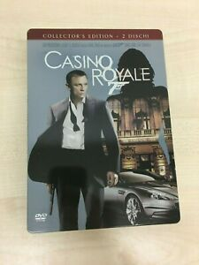 DVD 007 CASINO ROYALE COLLECTOR'S EDITION 2 DISCHI Come Nuovo (R)