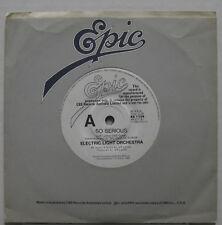 Electric Light Orchestra so Serious 1986 Australia White Label Promo 45 Elo