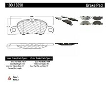 Disc Brake Pad Set-Base Front Centric 100.13890