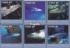 Mosambik 2620-2625 postfris MNH 2002 Wereld van Marine