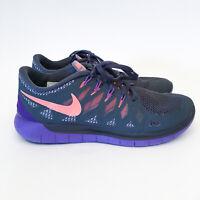Nike Free 5.0 Womens Running Shoes 642199-004 Sneakers US 8.5 UK6 EUR40