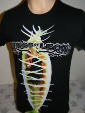 KINGS OF LEON black t shirt US concert tour 2010 men's S venus flytrap