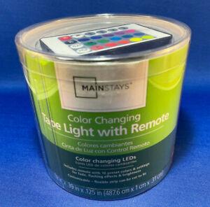 Walmart 16FT RGB led tape light 12V 1.17A
