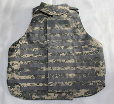 New Airsoft Molle OTV Vest Replica ACU Size Large With 6 Pouches