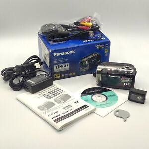 Panasonic HDC-HS60P-K Camera, Full HD, 25x Zoom, 35x izoom Hs60 1220x1080 120GB