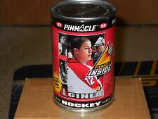 pinnacle hockey cards in a can