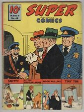 Super Comics #46 March 1942 Vg Dick Tracy
