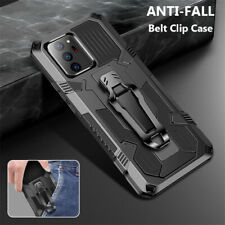 For Samsung Galaxy Note 20 S20 Ultra Armor Anti-fall Belt Clip Rugged Case Cover