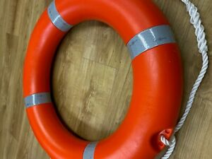 """Lifebuoy Life Ring 30"""" with Reflective Tape and Solas Approved Free Postage"""