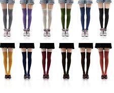 New Hot Womens Ladies Girls Fashion Thigh High Over Knee Socks Stockings