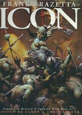 FRANK FRAZETTA: ICON  SOFTCOVER BOOK (1999) V/F+