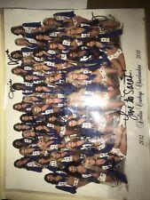 2012-2015 Dallas Cowboys Cheerleaders Autographed Portriat