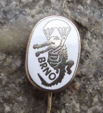 Brno Czech Parachuting Skydiving Club Members Parachute Crocodile Pin Badge