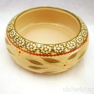 """Temp-tations OLD WORLD GREEN Single 20-oz. Stacking Bowl 6"""" x 2 1/2"""" EXCELLENT"""