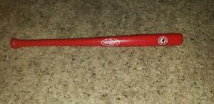 MINI Cincinnati Reds Pete Rose Hall Of Fame Induction Louisville Slugger Bat