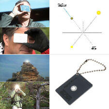 Multiuse Survival Emergency   Signal Mirror for Camping Hiking Boating