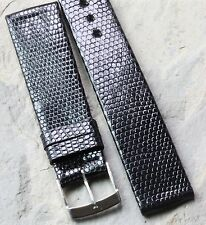 Short Genuine Lizard 18mm vintage watch strap Made in France 1960s/70s 16 sold