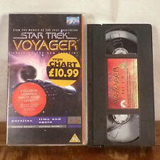 Star Trek Voyager VHS Tape Parallax Time and Again Episode Rare UK CIC Paramount