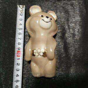 Porcelain figurine Olympic Bear MISHA Mishka mascot OLYMPIC GAMES 1980 USSR