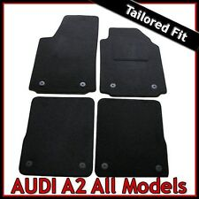 AUDI a2 (2000 2001 2002... 2008 2009 2010 2011) montata su misura moquette tappetini AUTO