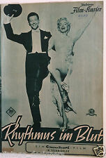 Marilyn Monroe There's No Business Like Show Business Film Programme German