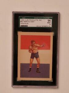 1956 Gum Products Inc. Adventure Boxing #80 Marvin Hart SGC 96 MINT 9