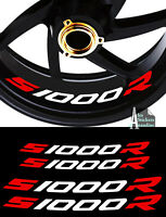 4 X STICKER LISERET JANTE LOGO POUR BMW S1000R S 1000 R MOTO STICKERS