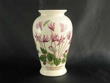 """Vintage Portmeirion Botanic Garden 5.5"""" Canton Vase Cyclamen Made England   P253"""