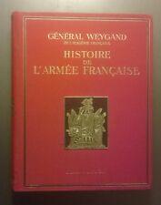 Histoire de l'armée française, Général Weygand - EO Flammarion  (1938)