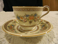 "Aynsley Bone China ""Devonshire"" Teacup and Saucer                          1-2"