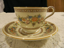 """Aynsley Bone China """"Devonshire"""" Teacup and Saucer                          1-2"""