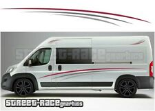 Motorhome Campervan 019 graphics stickers decal Fiat Ducato Citroen Relay Boxer