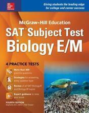 McGraw-Hill Education SAT Subject Test Biology E/M 4th Ed by Stephanie Zinn 2016