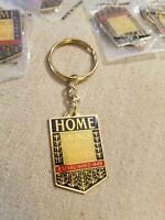 Bank Keychain Home Savings of America Vintage Retro Metal  Goldtone New