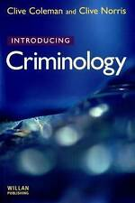 Introducing Criminology by Clive Norris, Clive Coleman (Paperback, 2000)