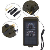 10 in 1 Multifunction Outdoor Survival Camping Hiking Compass Tool Kit
