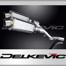 """Honda VFR800 V-Tec 9"""" Stainless Oval Muffler Exhaust 02 03 04 05 06 07 08 09"""