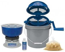 Case Tumbler Cleaning Kit Arsenal Corn Media Tumbling Brass Polish Bucket Ammo