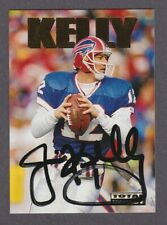 1992 SkyBox NFL Total Impact JIM KELLY Certified On-Card Auto SP1 Autograph HOF