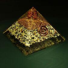 Mixed Gemstone Pyramid Orgone Spiritual Energy Generator Chakra Reiki